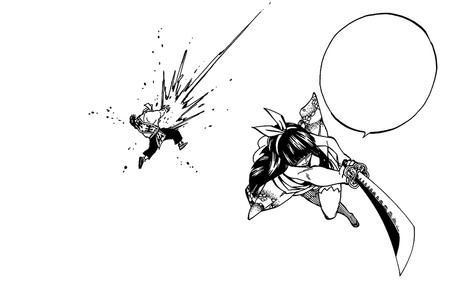 Kagura destroys Historia Simon