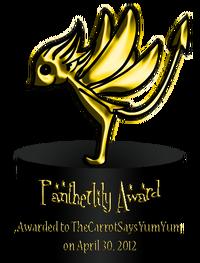 Pantherlily Award 1