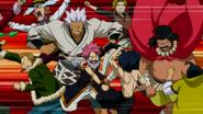 Fairy Tail brawl