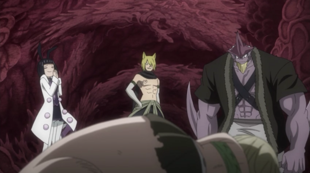 File:Lucy approached by Jackal, Torafuzar and Lamy.png