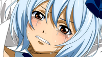 Yukino's tears after being defeated.png