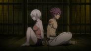 Lisanna and Natsu in prison