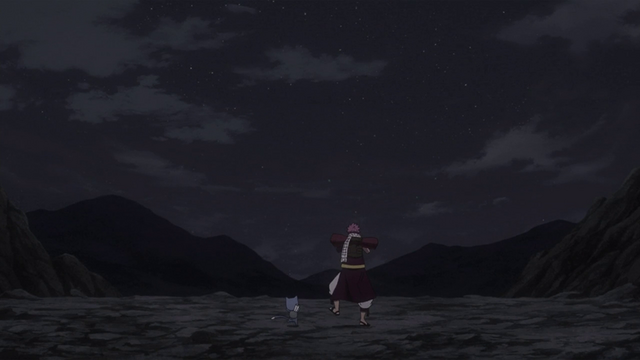 File:Natsu and Happy leave to train.png