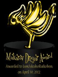 Makarov Dreyar Award 1