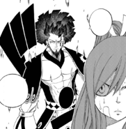 Erza is ambushed by Historia Azuma