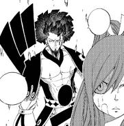 Erza is ambushed by Historia Azuma