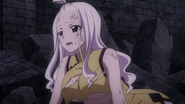 Mirajane's reaction to the activation of Face