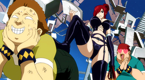 Erza's sexy outfit