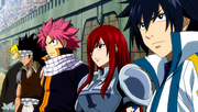 Team Fairy Tail enters