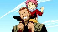 Natsu and Gildarts