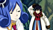 Juvia refusing to go with Gray