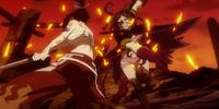 Erza Scarlet vs. Neo Minerva