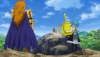 Leo and Aquarius attack Lucy