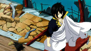 Zeref leaving Tenrou