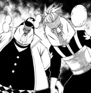 Jet and Droy infected by Ichiya