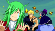 Freed happy to see Laxus