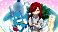 Erza and Happy
