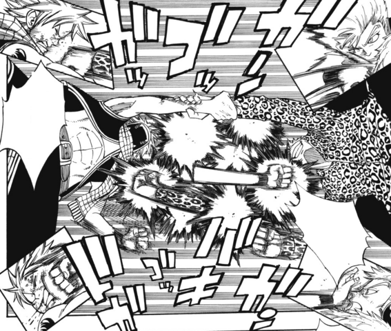 File:Natsu and Laxus continuously counterattack.png