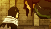 Gajeel mentions Frosch