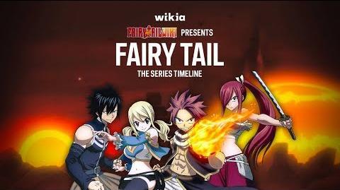 Fairy Tail - Series Timeline