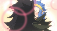 Gajeel-and-Levy-Kissing-in-Juvia's-Imagination