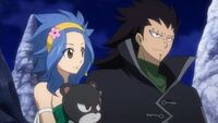 Gajeel and Levy in Celestial Spirit Clothing