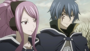 Jellal and Meredy smile