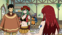 Erza's Reaction to Alzack and Bisca's Wedding
