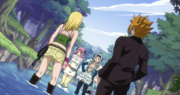 Loke and Lucy VS Aries and Angel