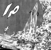 Ultear defeated in the sea