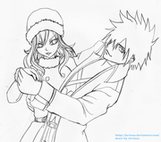 Gray x juvia 6 waiting for color by juviaaa-d53si40