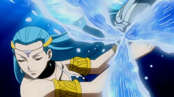 Aquarius' water attack