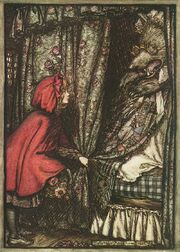 Arthur Rackham Little Red Riding Hood