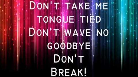 ♫♪ Tongue Tied ♫♪ - Glee (Lyrics in Video)
