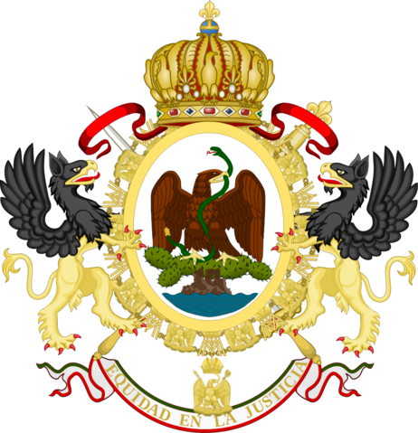File:1000px-Coat of Arms of the Second Mexican Empire svg.png