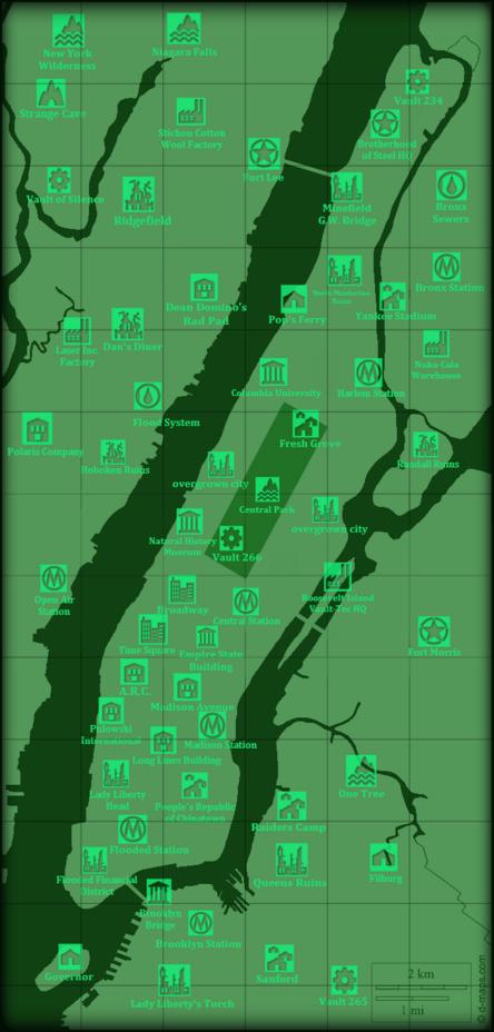 Empire Wasteland Map 3.0