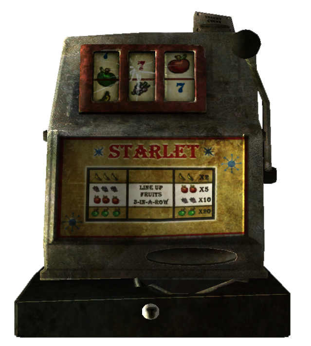 Fallout 1 slot machine