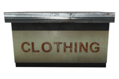 Clothing Stand Counter