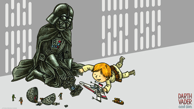 Vader and son