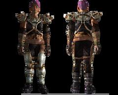 Metal master armor female