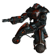Outcast sentry bot minigun