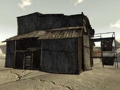 Camp McCarran supply shack
