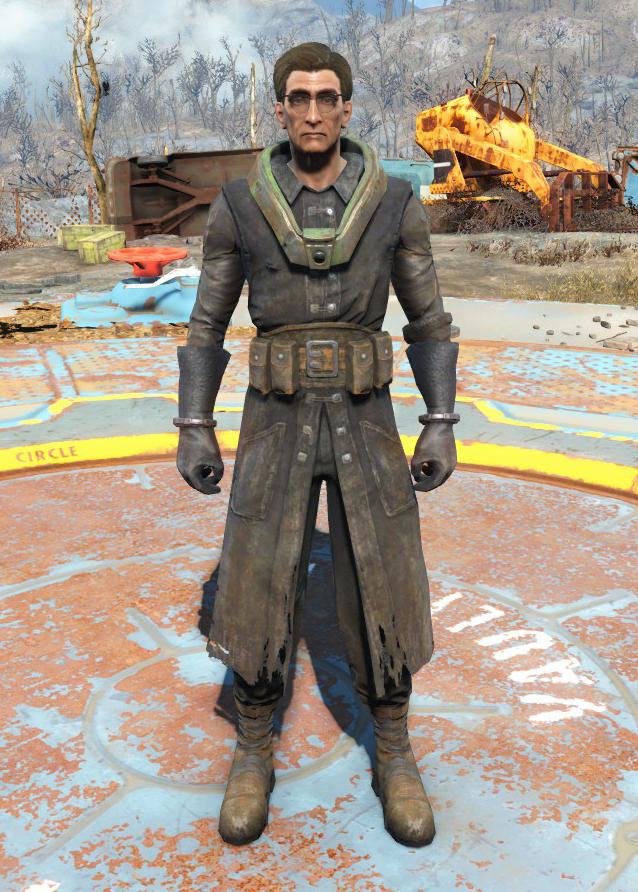 Fallout 4 Броня Защитника