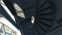 FO4 Quincy Church Stairs