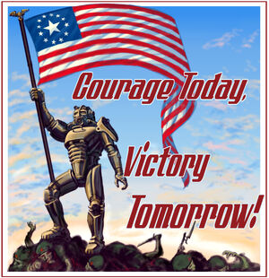 American Victory poster CA