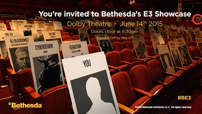 Bethesda E3 Invite is this vault boy
