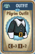 FoS Pilgrim Outfit Card