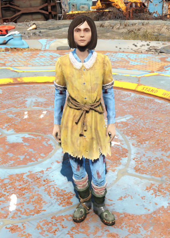 Kid S Dress Fallout Wiki Fandom Powered By Wikia