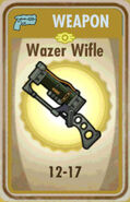 FoS Wazer Wifle Card