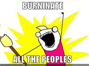 Burninate